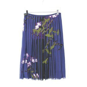 Vivienne Tam Purple Carwash Skirt Purple 2